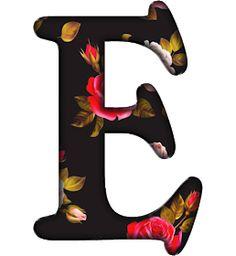 Alphabet, Monogram, Symbols, Letters, Black, Black Backgrounds, Hush Hush, Comics, Amor
