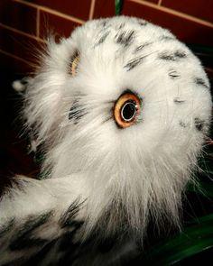 25 отметок «Нравится», 1 комментариев — Anna Magic Owl Flower (@magic.owl) в Instagram: «Мой любимец Маг Шанта. Рост 27см, ширина 24/15см. Крылья подвижны, сгибаются на кроволочном…»