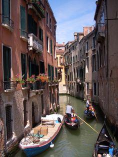 Gondala ride in Italy - Dream