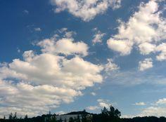 과학기술연합대학원대학교 가을하늘 (가을하늘;구름;UST 본관;과학기술 ...