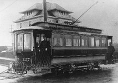 Capitol Hill electric trolley, circa 1903
