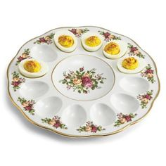 Royal Albert® Old Country Roses Deviled Egg Plate - jcpenney