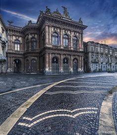 Teatro Massimo Bellini (Catania, Sicily, Italy) by Domingo Leiva on 500px