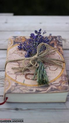 I have a well written journal of travel in France. I am giving it to a young friend to read and am adding une sweet lavender. The aroma will always be the inspiration to travel for the reader.....