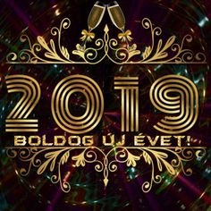 Happy New Year 2019 - Megaport Media Happy New Year Ecards, Happy New Year 2019, Share Pictures, New Year Gif, Animated Gifs, New Energy, Evo, Neon Signs, Animation