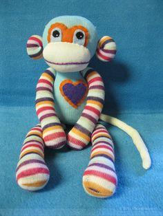 I <3 sock monkeys