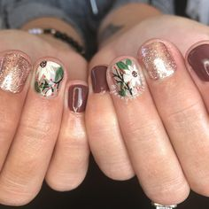 Bring on the fall nails! Work Nails, Us Nails, Neutral Gel Nails, Fall Nails, Cnd, Flower Nails, Nails Inspiration, How To Do Nails, Claws