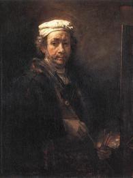 Último auto-retrato de Rembrandt data de 1669, ano de sua morte Foto: Museu do Louvre / Wikimedia
