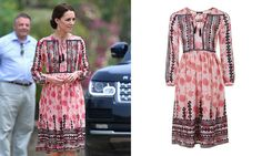 The Duchess of Cambridge wears $150 Topshop dress to perfection