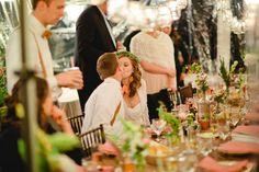 Intimate $5,000 19 Guest Tree Farm Wedding. Daphne & Dean Photography. #receptions #budgetweddings
