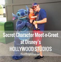 Disney World Secret Character Meet n Greet at Hollywood Studios!