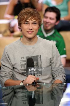 Actor William Moseley appears onstage during MTV's Total Request Live at the MTV Times Square Studios on May 5, 2008 in New York City.