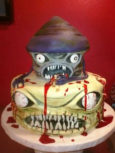 1000 Images About Zombie Cakes On Pinterest Zombies