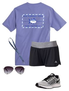 """""""just an outfit (:"""" by mell-rosee ❤ liked on Polyvore featuring Southern Tide, adidas and NIKE"""