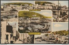 Multiview, Mousehole, Cornwall, c.1930s - Frith's Postcard