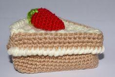 Hoy solo hay una porción de tarta de fresas, pero estoy elaborando más, para poder invitar a todas mis amigas y amigos. Que os parece, es...