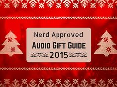 Need a great way to pump up the volume at your New Years Eve party? Or maybe you have a long boring flight home? Our audio gift guide has you covered.