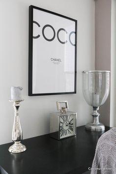 Coconut White: Työtilan päivitettyä ilmettä ja eiliset kutsut!