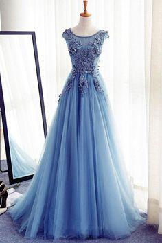 Prom Dresses Blue #PromDressesBlue, Prom Dresses A-Line #PromDressesALine