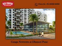 Ganga New Town is a widely spread residential project by Goel Ganga Developments located at Dhanori,Pune. Goel Ganga Developments is India\'s top real estate builder. Ganga New Town offering a blessednature friendly lifestyle in Pune City. For more details visit \nhttp://www.redcoupon.com/17826-ganga-new-town-dhanori-pune.html.\n