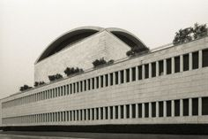 #Architecture in #Italy - #ConventionCenter by Adalberto Libera