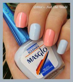 Amable y Solidaria de Masglo - Paperblog Nails & Co, Pedicure Nails, My Nails, Spring Nails, Summer Nails, Beauty Hacks, Nail Designs, Nail Polish, Make Up