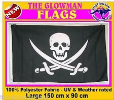 Jack Rackham's actual flag.  This is the Pirate that Jack Sparrow is (extremely loosely) based off.