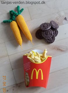 French fries carrot oreo