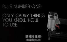 What would you carry? What do you know how to use? #unbreakable #thelegionseries #kamigarcia #YAbooks #supernatural #paranormal #quotes *