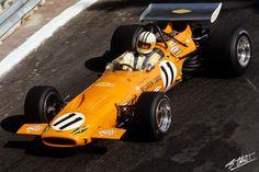 Hulme 1970 Monaco McLaren M14A