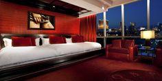 Lujosas habitaciones, Suite provocativa del hotel Hard Rock en las Vegas