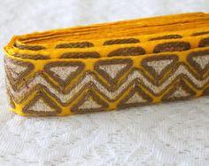 Foot Longs12 Trims-4 Assorted Trims-Sari Fabric-Silk