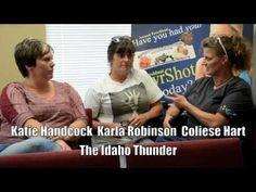 Coliese Hart and the Idaho Thunder