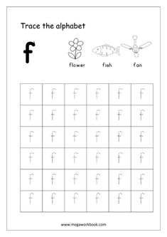 Alphabet Tracing - Small Letters - Alphabet Tracing Worksheets - Alphabet Tracing Sheets - Free Printables Tracing Letters (A-Z) - Lowercase - MegaWorkbook Alphabet Writing Worksheets, Letter Worksheets For Preschool, Writing Practice Worksheets, Printable Alphabet Letters, English Worksheets For Kids, Alphabet Tracing, Teaching The Alphabet, Preschool Letters, Small Alphabets