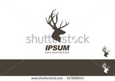 stock-vector-deer-stag-head-silhouette-quality-label-branding-design-template-347899043.jpg (450×320)