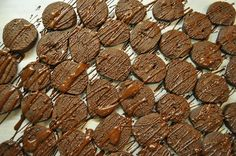 Chocolate Covered Chocolate Cookies