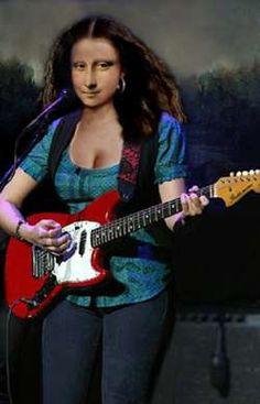 Rock On Mona Lisa