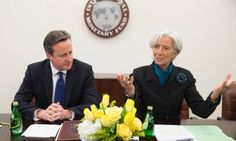IMF forecast blows hole in George Osborne's deficit reduction plan | Business | The Guardian