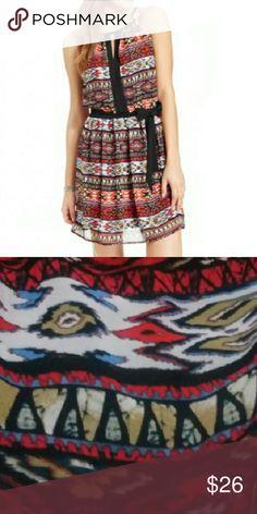 Flash sale! BCX dress New with tags. Gorgeous BCX dress with great pattern. BCX Dresses