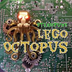 Picture of SteamPunk Lego LED Octopus
