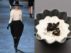 Lanvin fw 2011-12 / Cream of cauliflower, potatoes and mushrooms of the east soup