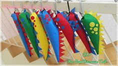 Verance's Kitchen & Life: DIY No Sew Dino Tail More