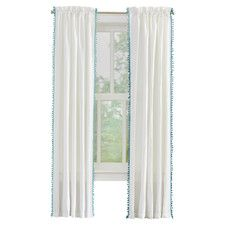 Arianna Light Filtering Single Curtain Panel