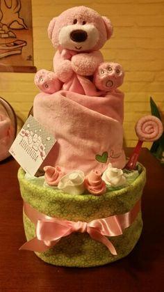 Torta de pañales. babyclo