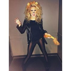Pin for Later: Look Back at All of Last Year's Celebrity Halloween Costumes Tori Kelly as a Lion