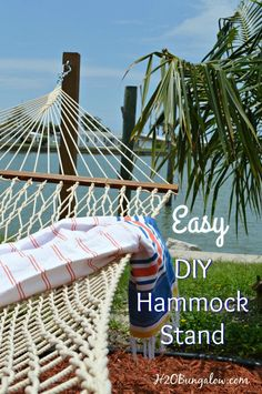 How to Build A Durable DIY Hammock Stand From Posts