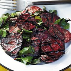 Grilled Beets With Balsamic Glaze