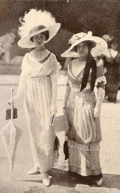 Edwardian summer dresses