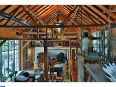 This wild home in Pennsylvania could be yours for $3.975 million.   http://www.estately.com/listings/info/565-kellers-church-road--2