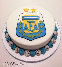AFA fútbol cake